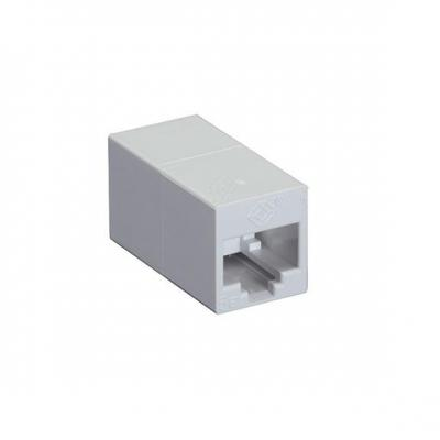 Black Box Cat5E Unshielded CroSS-Pin Coupler White 10-Pack Kabel connector - Wit