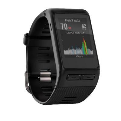 Garmin smartwatch: vívoactive HR - Zwart