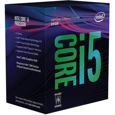 Intel processor: Core i5-8600K