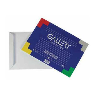 Gallery envelop: FOTOKADER WIT 16,6X16,6CM