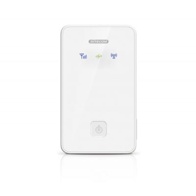 Sitecom netwerkkaart: 3G Mobile WiFi Router - Wit