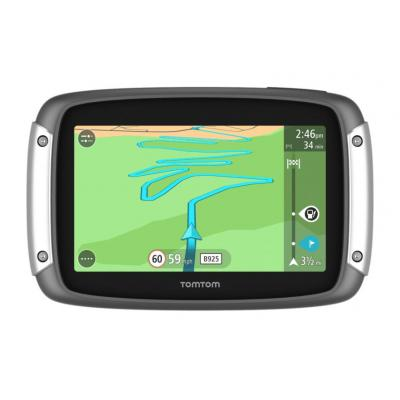 Tomtom navigatie: Rider 400 Premium Pack - Zwart, Zilver