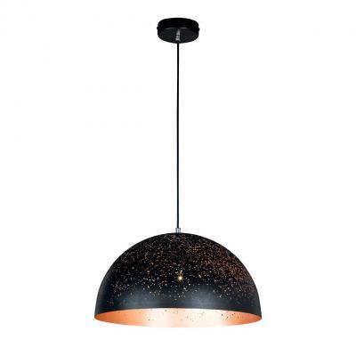 Wofi suspension lighting: TORRE - Zwart, Bruin