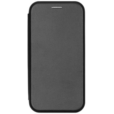 CP-CASES Slim Folio Booktype iPhone 12 (Pro) - Zwart - Zwart / Black Mobile phone case