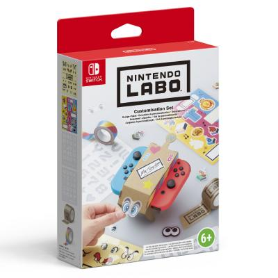 Nintendo hardware: Labo: Decoratie Set  Switch