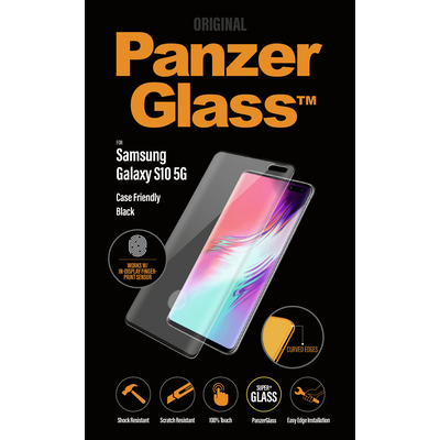 PanzerGlass Samsung Galaxy S10 5G Curved Edges Screen protector - Transparant