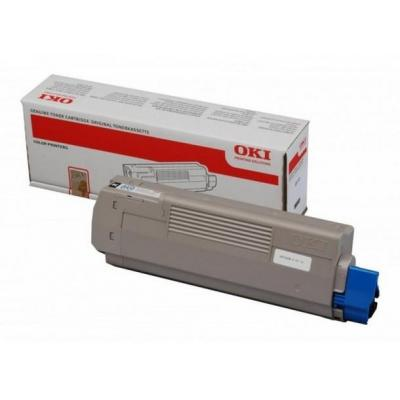 OKI cartridge: C610 Toner Black (8K) - Zwart