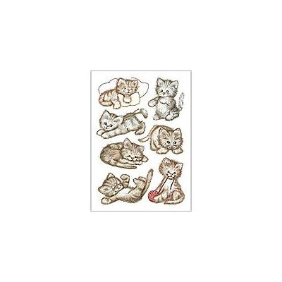 Herma sticker: Decorative label DECOR sweet cat 3 sheets