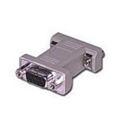 C2G DB9 F/F Gender Changer Kabel adapter - Grijs