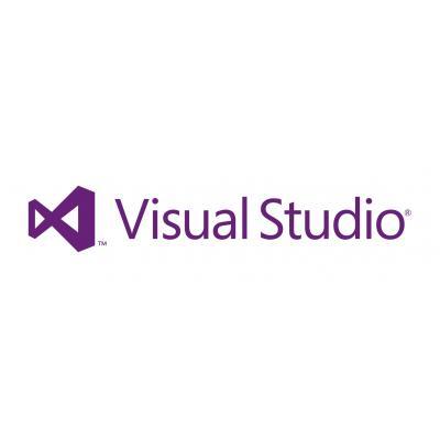 Microsoft Visual Studio Professional 2012 w/MSDN, OLP-NL, 1 LIC/SA, ML Software licentie