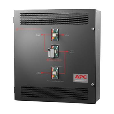 APC 10-15kVA 208V 3PH, 60Hz, Black Drukknop-panel - Zwart