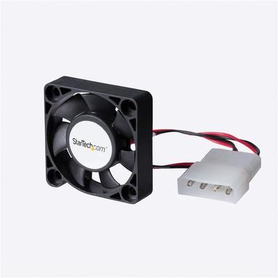 StarTech.com 40x10mm Ventilator voor Computerbehuizing met Kogellagers en LP4 Hardware koeling - Zwart