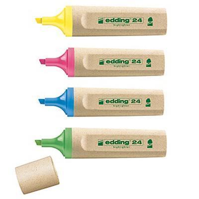 Edding markeerstift: EcoLine 24 - Multi kleuren