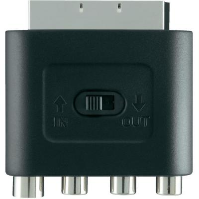 Belkin SCART to S-Video, Black Video converter - Zwart