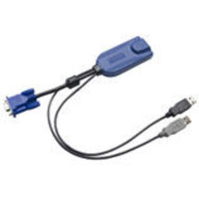 Raritan D2CIM-DVUSB-64PAC KVM kabel - Zwart