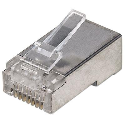 Intellinet 790574 Kabel connector - Zilver