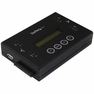 """StarTech.com Schijf en wisser voor USB Flash drives en 2.5 / 3.5"""" SATA schijven Duplicator - Zwart"""