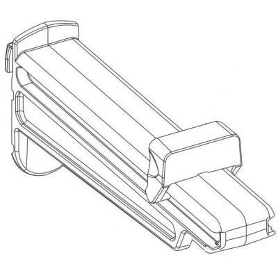 Intermec Edge Guide, Small for PM4i Printing equipment spare part