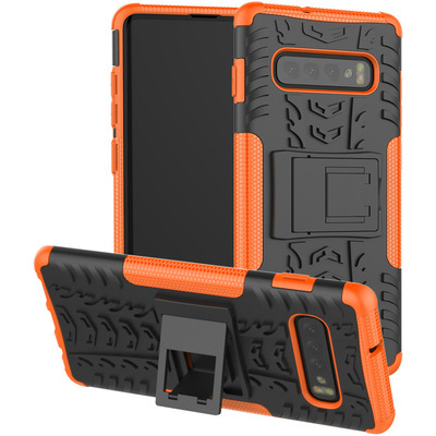 CoreParts MOBX-COVER-S10P-SM-G975-OR Mobile phone case - Oranje