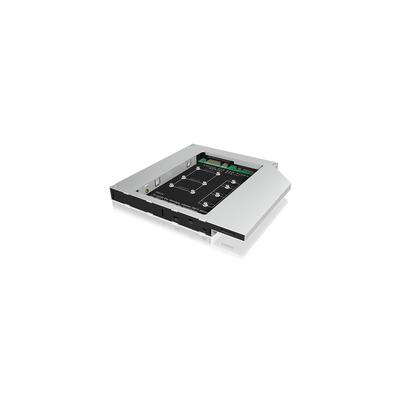 ICY BOX IB-AC650 Notebook reserve-onderdeel - Zwart, Zilver