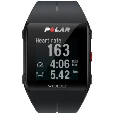 Polar sporthorloge: V800 HR - Zwart