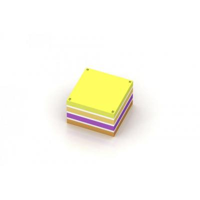 Oxford 7,5x7x5cm - Blanco - 450 Vel - SCRIBZEE Compatible - Assorti Etiket