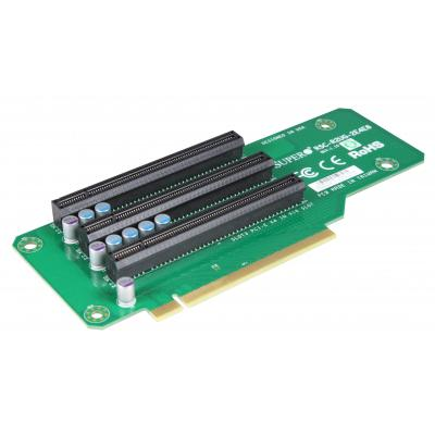 Supermicro Riser Card 2U LHS Passive PCI-E to 1 x PCI-E x8, 2 x PCI-E x4 Interfaceadapter