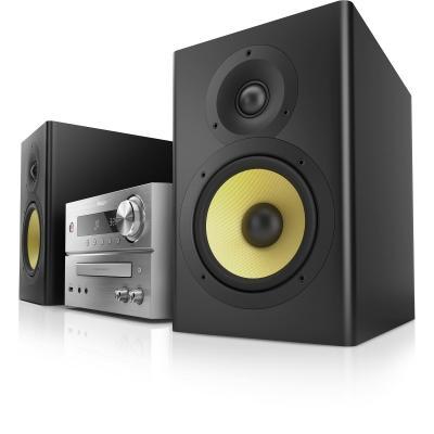 Philips home stereo set: Micromuzieksysteem BTB7150/10 - Zwart, Zilver