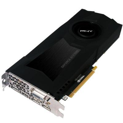 Pny videokaart: GeForce GTX 1080 8GB GDDR5X - Zwart