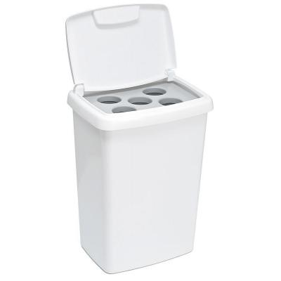 Vepa bins vuilnisbak: VB 804920 - Wit