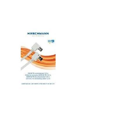 Hirschmann coax kabel: RH-FKB777-3.0 - Wit
