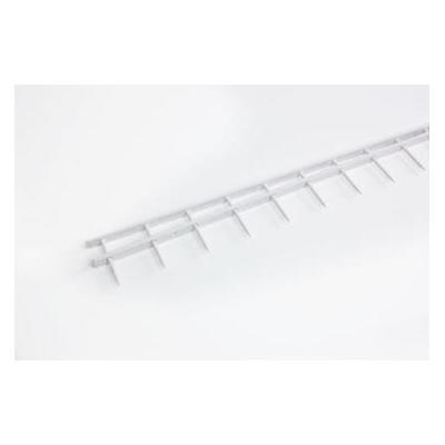 Gbc papierklem: 100 STRIPS S1 25X297MM WHITE - Wit