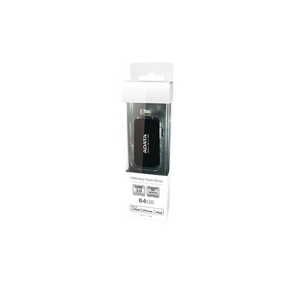 Adata USB flash drive: UE710 64GB - Zwart
