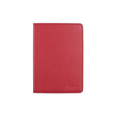 Gecko apparatuurtas: - Luxe Beschermhoes voor Kobo Aura Edition 2 (Rood)