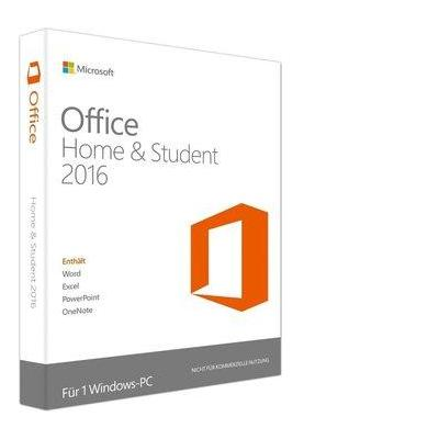 Dell software suite: Microsoft Office Home & Student 2016