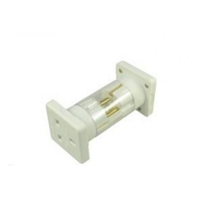 2-power stekker-adapter: Plug adapter, Europe, 230V AC, 118 g, White - Wit