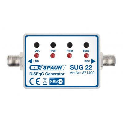 Spaun SUG 22 Signaalomvormer - Zilver