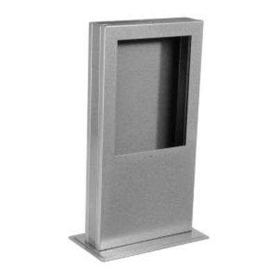 Peerless Desktop Kiosk, f/ iPad Tablets, Capacity 5lb (2.2kg), Silver Multimedia kar & stand - Zilver