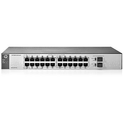 Hewlett Packard Enterprise PS1810-24G Exchange Unit Switch - Grijs