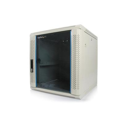 Startech.com rack: 12U 19in Wall Mounted Server Rack Cabinet - Wit