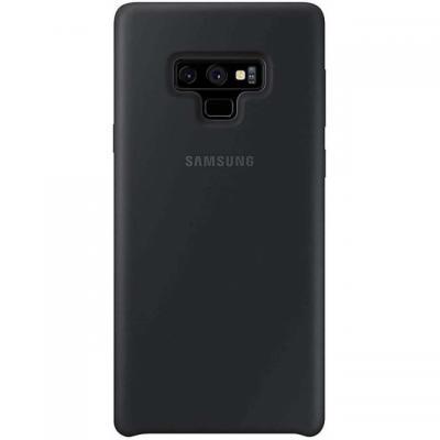 Samsung mobile phone case: Silicone Cover Zwart