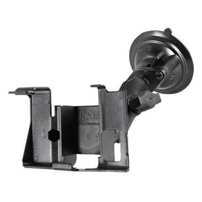 RAM Mounts Twist-Lock Suction Cup Mount, f/ Garmin nuvi 600, 610 - Zwart