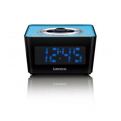 Lenco radio: CR-16 - Zwart, Blauw