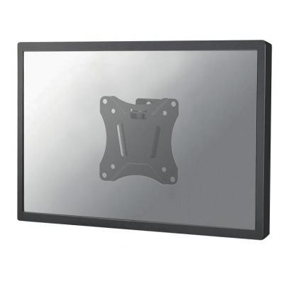 "Newstar montagehaak: TV/Monitor Ultrathin Wall Mount (fixed) for 10""-30"" Screen - Black - Zwart"