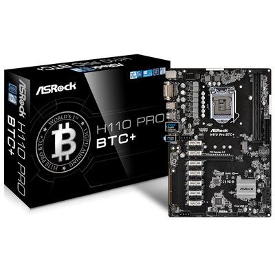 Asrock H110 Pro BTC+ Moederbord