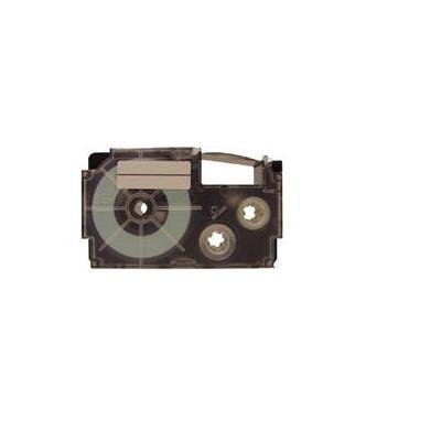 Casio labelprinter tape: XR-9WE - Zwart