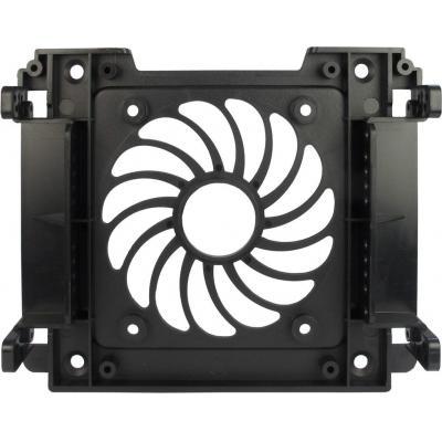 "Inter-Tech HDD-/SSD-mounting frame 5.25"" to 3.5""/2.5"" Montagekit - Zwart"
