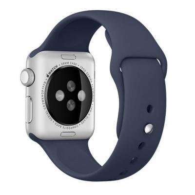 Apple : Sportbandje - Middernachtblauw (38 mm)