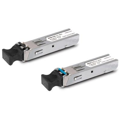 PLANET SFP-Port 1000BASE-BX (WDM, TX:1310nm) mini-GBIC module-40km (-40~75℃) Netwerk tranceiver module