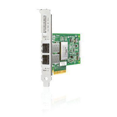 Hewlett Packard Enterprise HP 82Q 8Gb 2-port PCIe Fibre Channel Host Bus Adapter Netwerkkaart